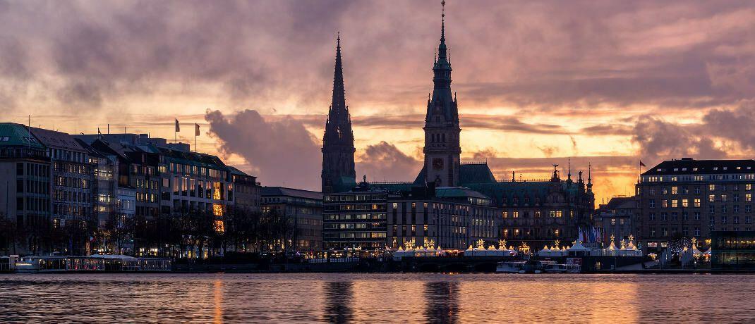 Binnenalster in Hamburg - das Investment