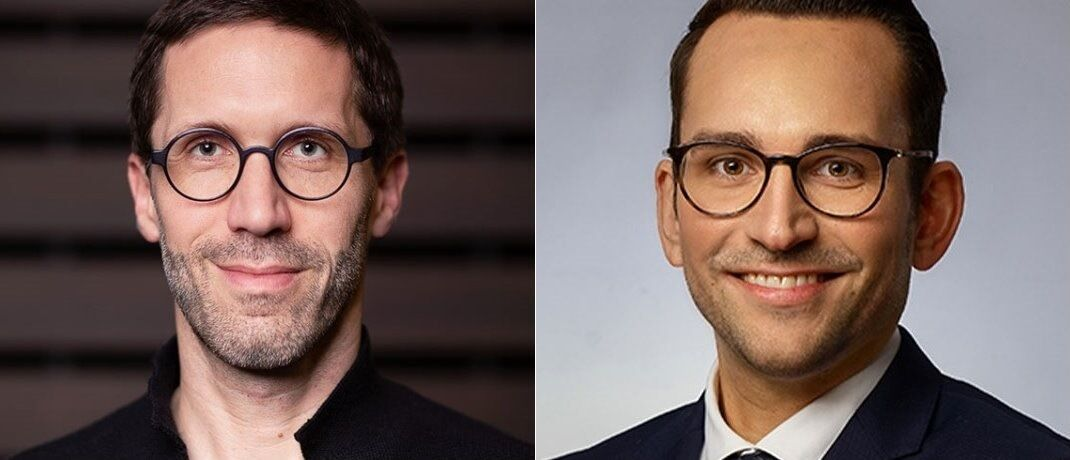 Elinvar-CEO Chris Bartz (i.) und Fondsdepot-Bank-Chef Sebastian Henrichs.|© Elinvar/Fondsdepot Bank