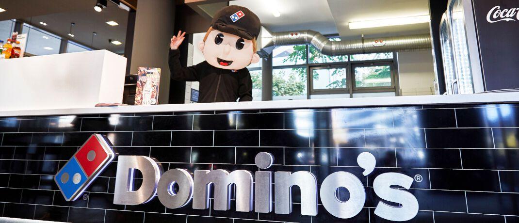 Filiale von Domino's Pizza: Die Aktie des Pizza-Lieferanten gehörte jahrelang zu den Top-Positionen des Crashtest-Siegers Fundsmith Equity.|© Domino's Pizza Deutschland