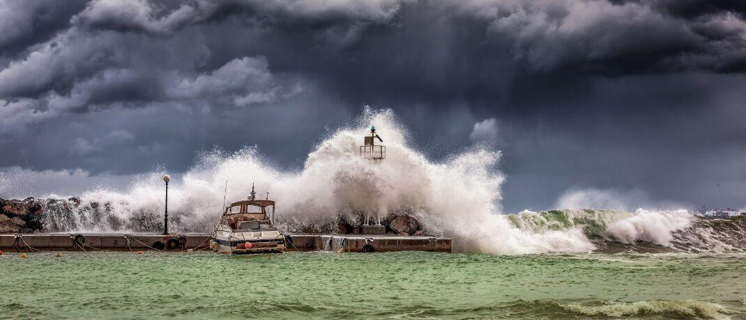 Sturmwarnung: In den Höhenlagen und an den Küsten von Nord- und Ostsee muss dieser Tage mit teils schweren Sturmböen gerechnet werden. © GEORGE DESIPRIS