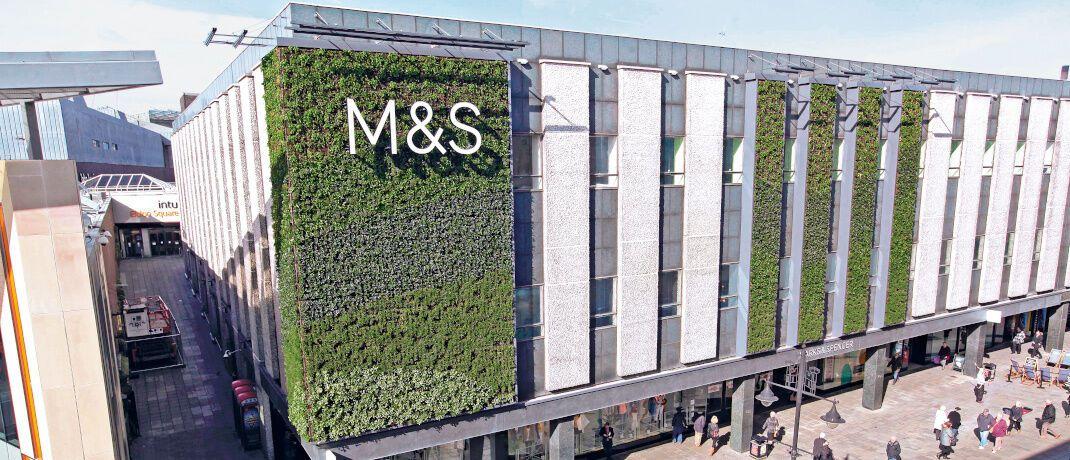Kaufhaus von Marks & Spencer in Newcastle: Der britische Einzelhändler zählt zu den ethischsten Unternehmen der Welt.|© Marks and Spencer