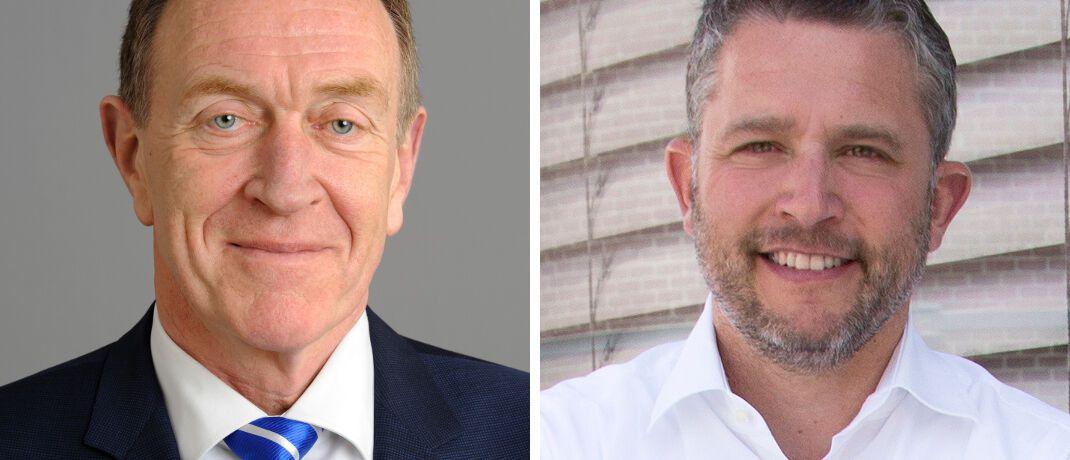 Michael H. Heinz (l.) und Christoph Röttele: Der BVK-Präsident und der Sprecher der Check24-Geschäftsführung kommentieren das Urteil sehr unterschiedlich.|© BVK, CHECK24