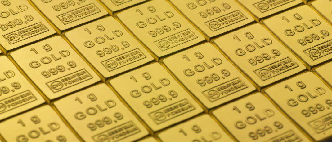 Gold: In sogenannten Combibarren lässt sich das Edelmetall je nach Bedarf stückeln. Anleger sollten allerdings nicht rein auf Gold setzen, sondern auch bei Edelmetallen diversifizieren, rät Dominik Lochmann.|© ESG Edelmetall-Service GmbH & Co. KG