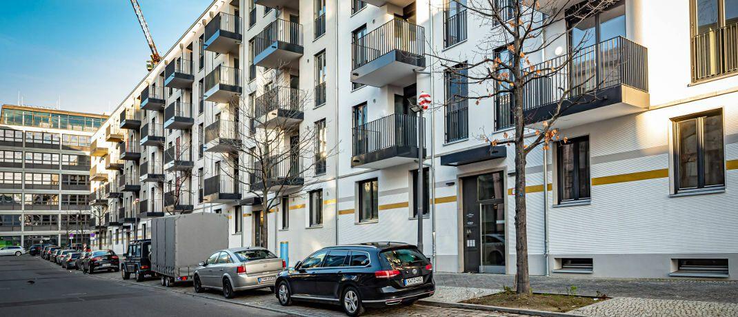 Neubausiedlung in Berlin-Charlottenburg: Kritiker des Mietendeckels befürchten, dass künftig in der Hauptstadt weniger gebaut wird.