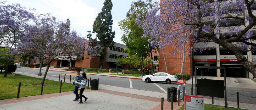 Campus der University of Southern California in Los Angeles: Die angesehene Universität steht im Zentrum eines Bestechungsskandals, in den auch Ex-Pimco-Chef Douglas Hodge verwickelt ist.