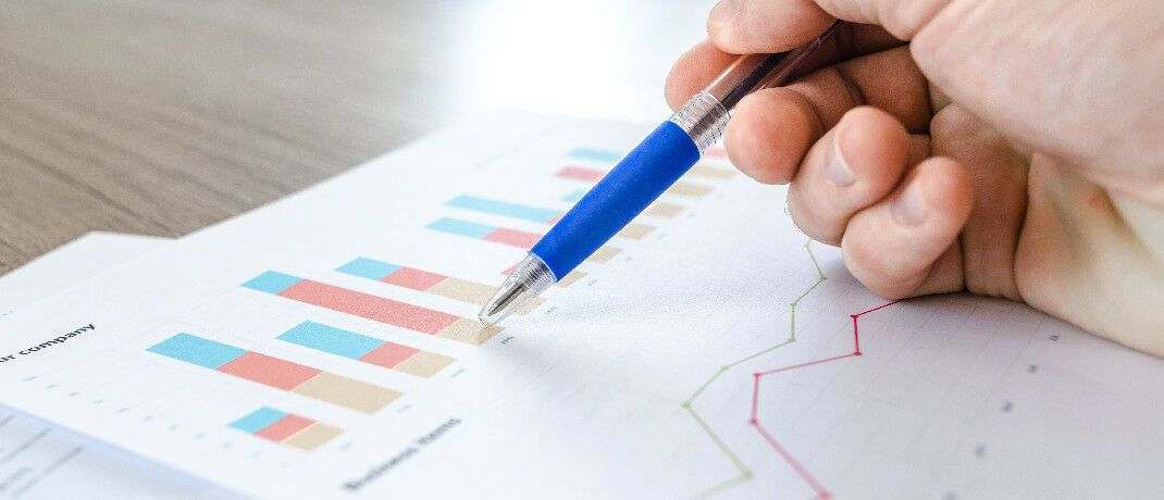 Ergebnisse einer Studie als Charts: Wer sich an der Umfrage zur Ruhestandsplanung beteiligt, bekommt die Auswertungen per E-Mail zugeschickt.