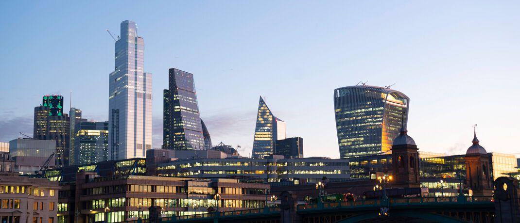 Londoner Skyline: Die Fondsgesellschaft Artemis Investment Management hat ihren Hauptsitz in der britischen Hauptstadt.|© imago images / PA Images