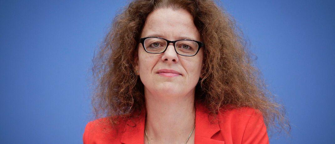 """Ökonomin Isabel Schnabel ist Mitglied im Sachverständigenrat zur Begutachtung der gesamtwirtschaftlichen Entwicklung (""""Wirtschaftsweise"""") und seit Jahresbeginn 2020 Mitglied des EZB-Direktoriums."""