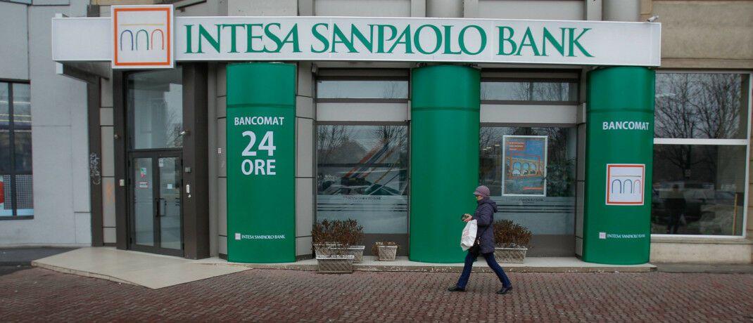 Eine Filiale der Intesa Sanpaolo: Zu dem gleichnamigen italienischen Finanzkonzern gehört nun auch ein Asset Manager für alternative Anlagen.  © Intesa Sanpaolo