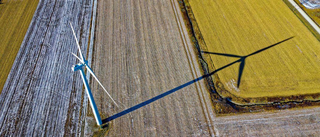 Windkraftanlage: Unter Nachhaltigkeit verstehen die Deutschen vor allem Klima- und Umweltschutz. © Tom Fisk