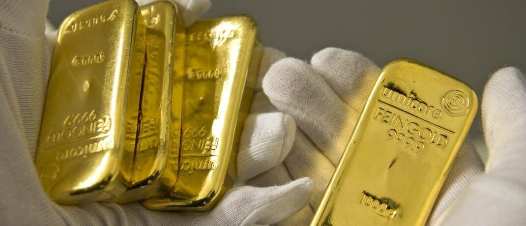 Vier Mal der Gegenwert von aktuell 44.000 Euro: Gold ist derzeit stark genug, um die leichte Aufwertung des US-Dollar und die gute Performance der globalen Aktienmärkte auszugleichen.|© imago images / photothek