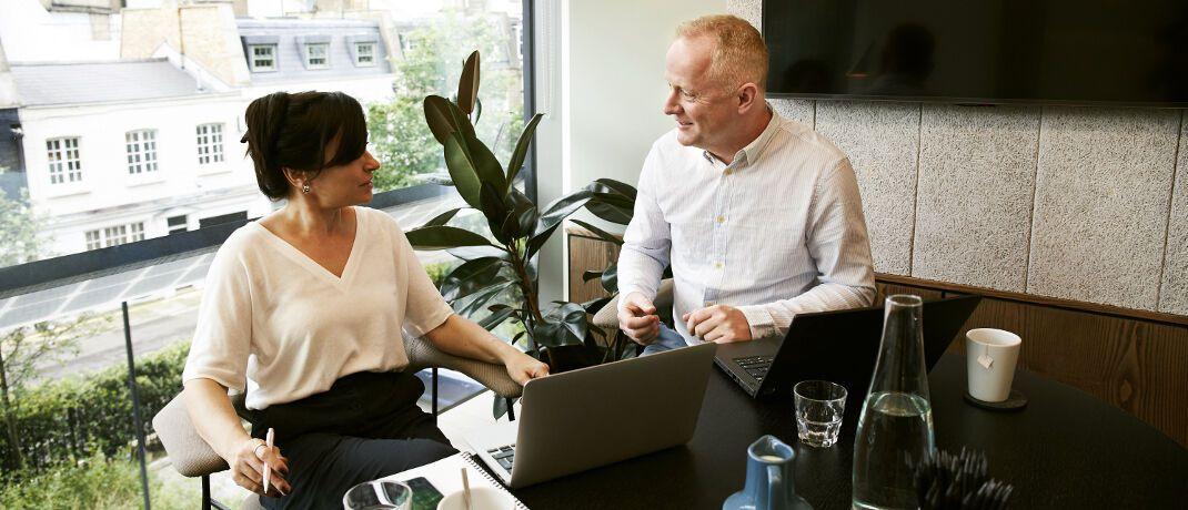 Extras vom Chef: Ihre Prozesse bei betrieblichen Versicherungen zur Altersvorsorge von Mitarbeitern hat die Gothaer jetzt vollständig digitalisiert.|© The Coach Space