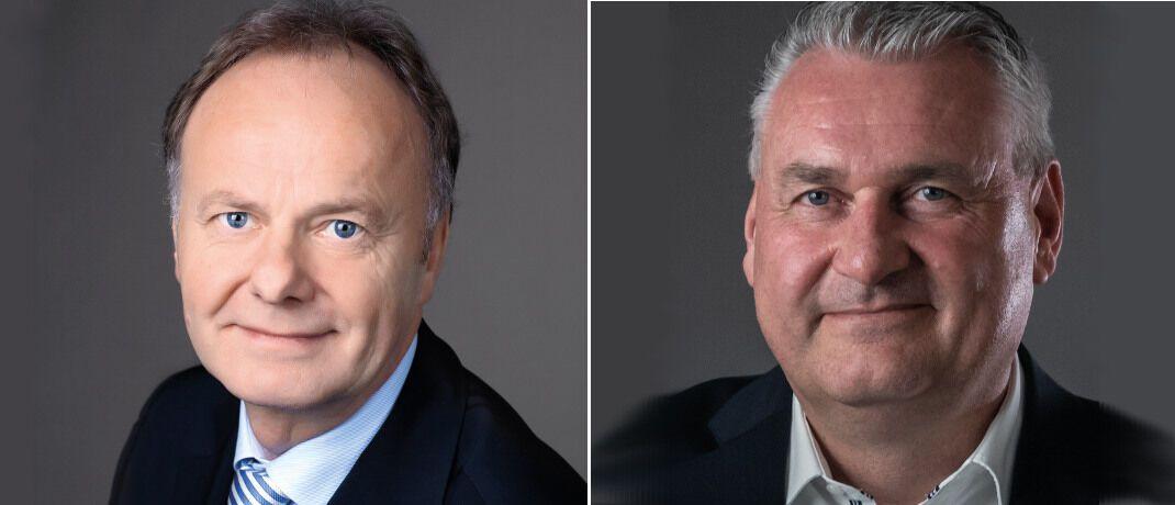 Franz-Josef Rosemeyer (links) geht in Ruhestand, seinen Posten bei A.S.I. übernimmt Klaus Ostholt.|© A.S.I. Wirtschaftsberatung