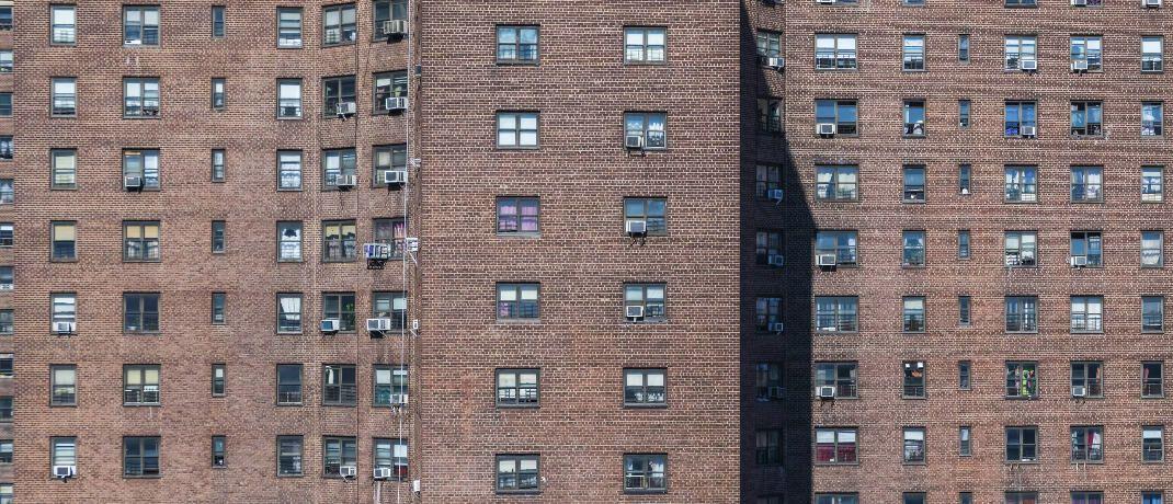 Wohnblock in New York City: Der BVT-Fonds investiert in Apartmenthäuser in den USA.|© imago images / Westend61