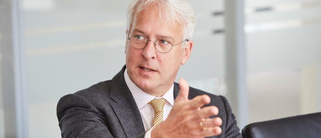 Georg Graf von Wallwitz, Fondsmanager und Geschäftsführer des Vermögensverwalters Eyb & Wallwitz|© Piotr Banczerowski