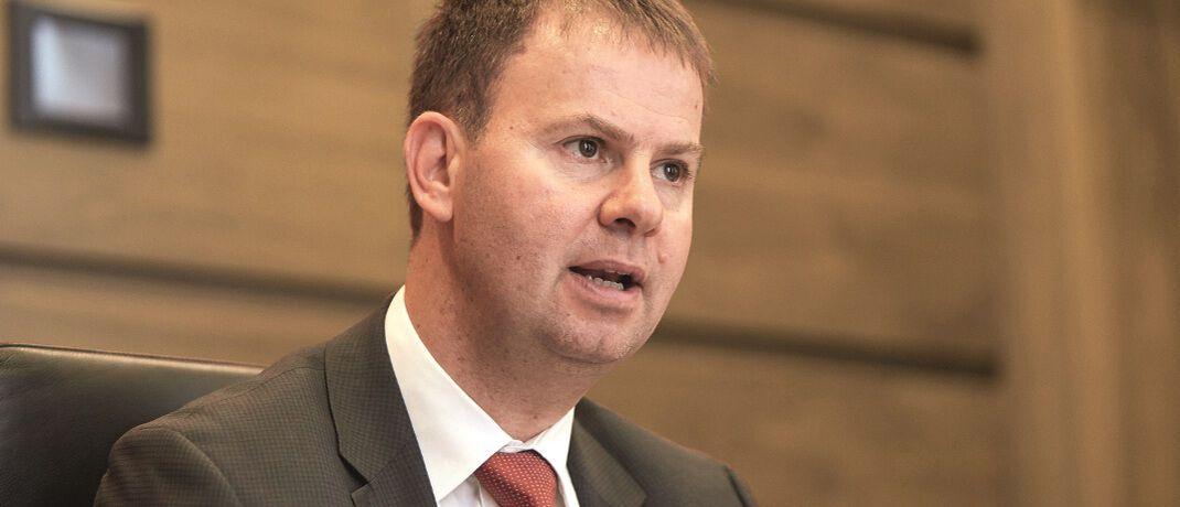 Fondsmanager Michael Krautzberger hat Hilfe von zwei neuen Anleihespezialisten.|© Piotr Banczerowski