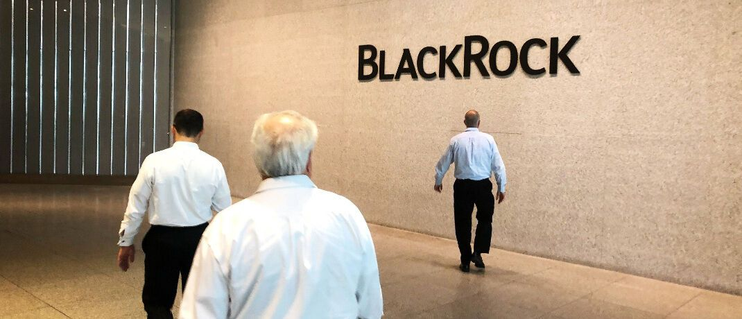 Szene im New Yorker Hauptquartier von Blackrock: Die Gesellschaft ist weltweit und auch in Europa Nummer eins nach Assets under Management unter den institutsunabhängigen Vermögensverwaltern.|© imago images / IP3press