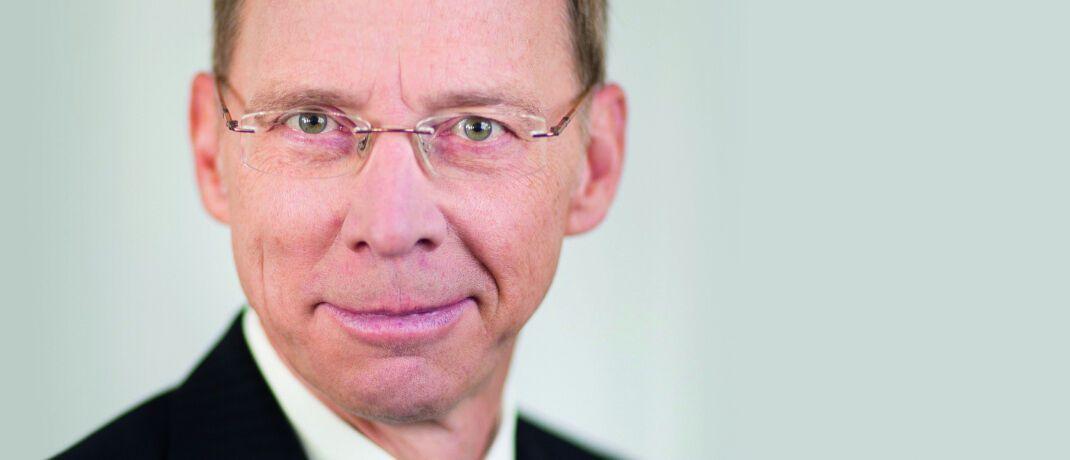 Macht sich Sorgen um einige Pensionskassen: Bafin-Versicherungschef Frank Grund.|© Bafin