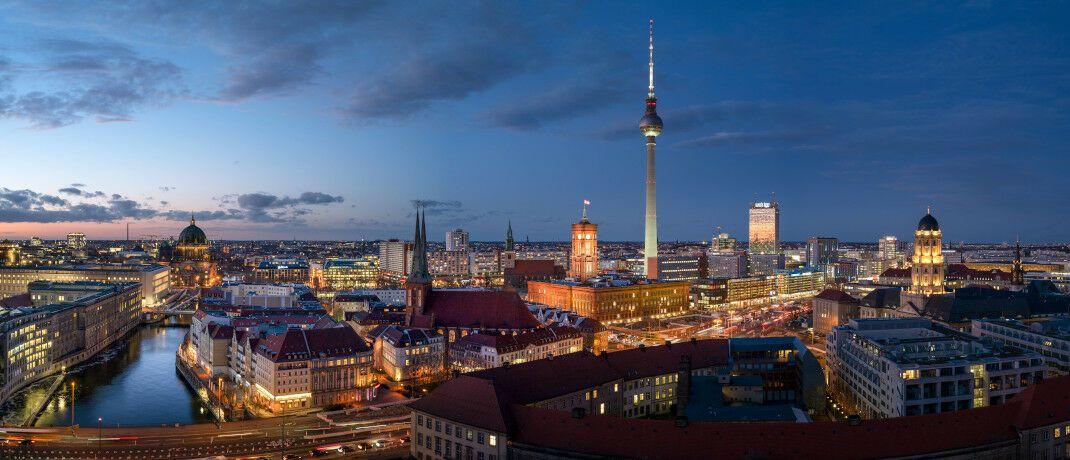 Blick über Berlin: In der Bundeshauptstadt soll ein Mietendeckel eingeführt werden.