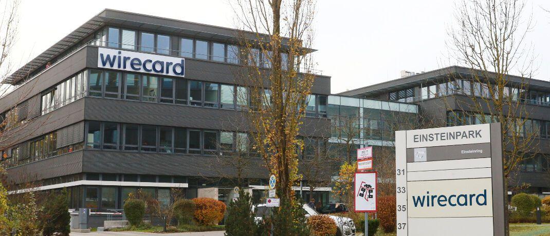 Hauptsitz von Wirecard in München: Der Zahlungsdienstleister arbeitet künftig mit dem Versicherer Signal Iduna zusammen. © imago images / Lackovic