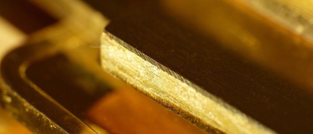 Goldbarren: Im Fall des insolventen Goldhändlers PIM Gold haben 6.600 Gläubiger Forderungen beim Insolvenzverwalter angemeldet. © imago images / CHROMORANGE