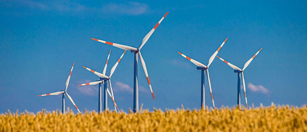 Windräder: Die EU-Kommission hat im Dezember den Entwurf eines zukünftigen Ökolabels für Investmentfonds vorgelegt. © Pexels