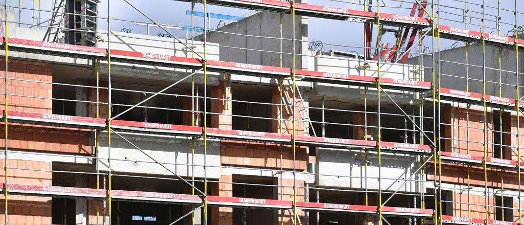 Neubau in München: In den vergangenen zehn Jahren verteuerten sich Wohnungen in der bayerischen Hauptstadt um 163 Prozent. Ein Quadratmeter Wohnfläche kostet derzeit 7.610 Euro. © imago images / Sven Simon