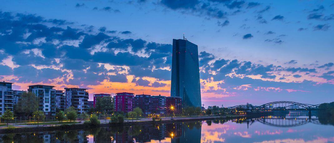 Europäische Zentralbank in Frankfurt: Digitales Zentralbankgeld stärkt die Staatsmacht.|© imago images / imagebroker