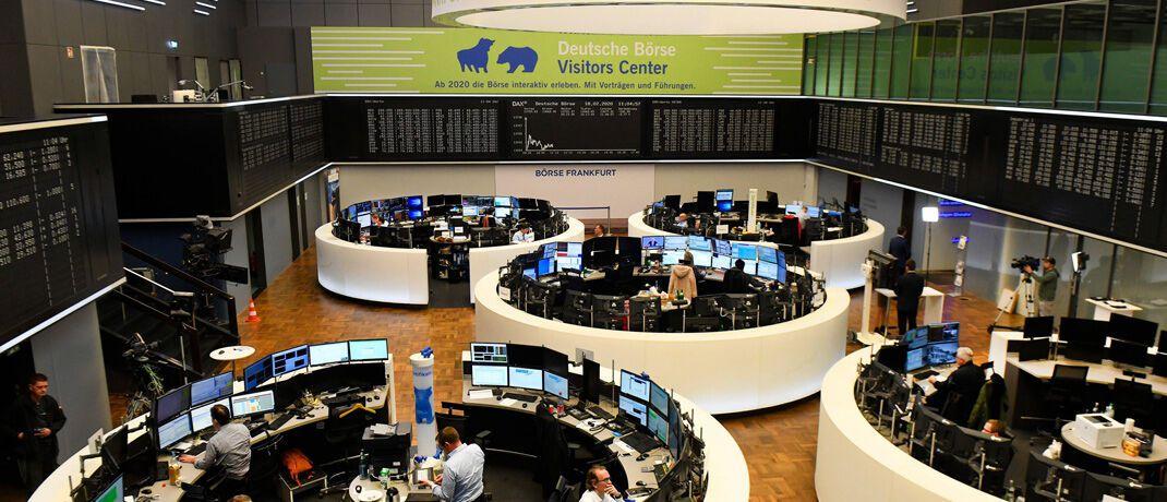 Börse in Frankfurt: Im Prime Standard gelistete Unternehmen müssen Quartalsberichte für Investoren erstellen. © imago images / sepp spiegl