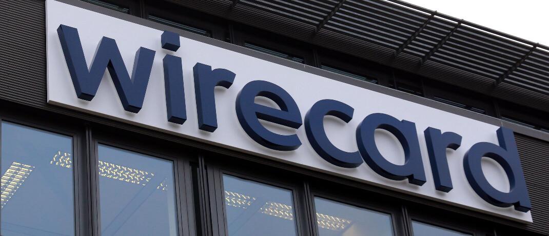 Logo von Wirecard. © imago images / Lackovic