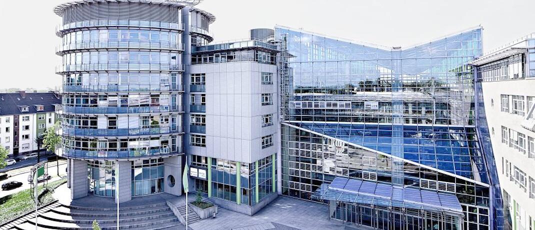 Gebäude der Provinzial Rheinland in Düsseldorf-Wersten: Mindestens ein Mitarbeiter des öffentlichen Versicherers hat sich mit dem Coronavirus infiziert.|© Provinzial Rheinland