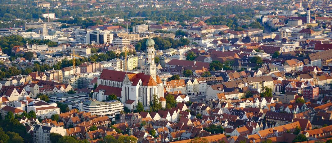 Augsburg: Die Augsburger Aktienbank, die in der Stadt ihren Sitz hat, soll vor einem Verkauf stehen.|© Pixabay