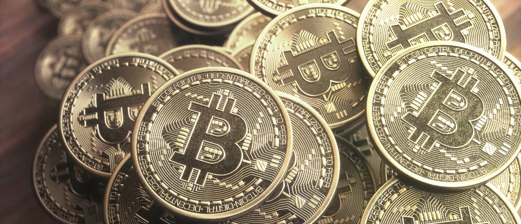 Bitcoin-Fans werben mit Wertstabilität.|© imago images / Science Photo Library