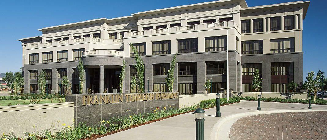 Firmenzentrale von Franklin Templeton in San Mateo, Kalifornien.
