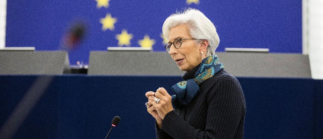 EZB-Präsidentin Christine Lagarde: Mit Spannung war das Ergebnis der EZB-Sitzung erwartet worden.|© imago images / PanoramiC