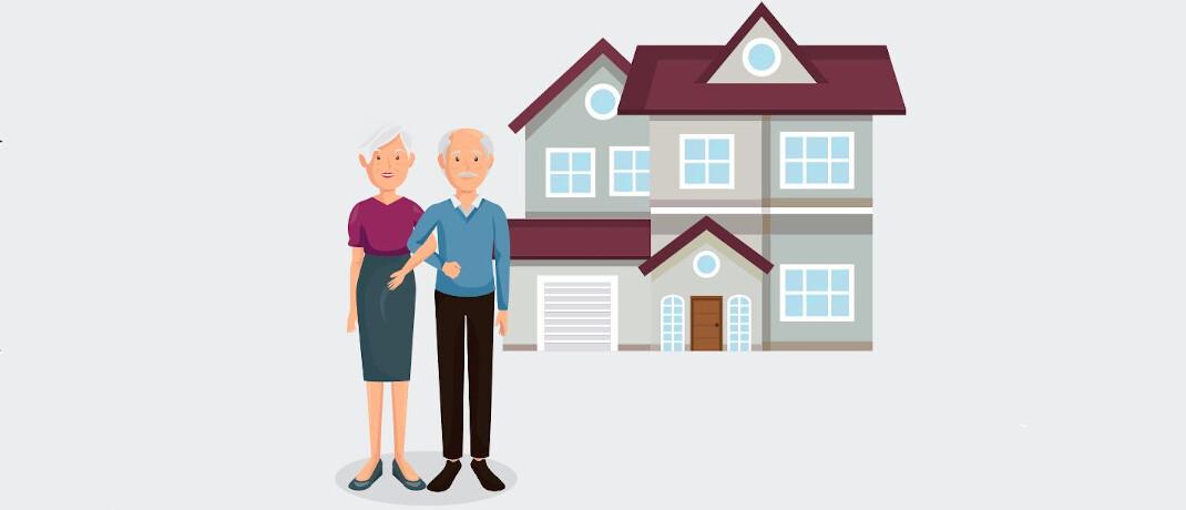 Unser aktueller Praxisfall beschäftigt sich mit einem Ehepaar, das vom eigenen Haus in eine Mietwohnung wechselt|© Freepik