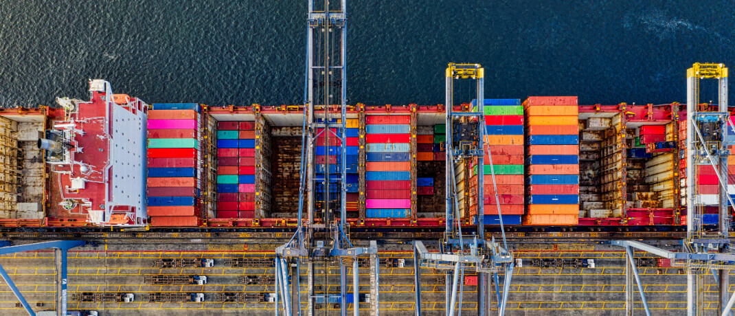 Frachtcontainer aus der Vogelperspektive: Anleger der P&R zahlten für Container, die es nur auf dem Papier gegeben haben könnte.|© Tom Fisk
