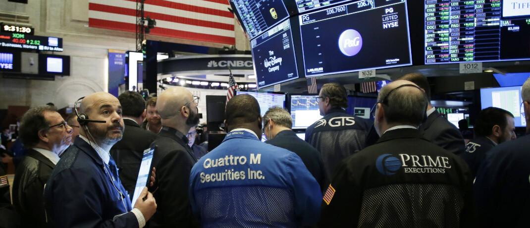 Händler an der New Yorker Börse in der vergangenen Woche: Anleger müssen keine Angst vor Aktien haben, sagt Vermögensverwalter Michael Scholtis. © imago images / UPI Photo