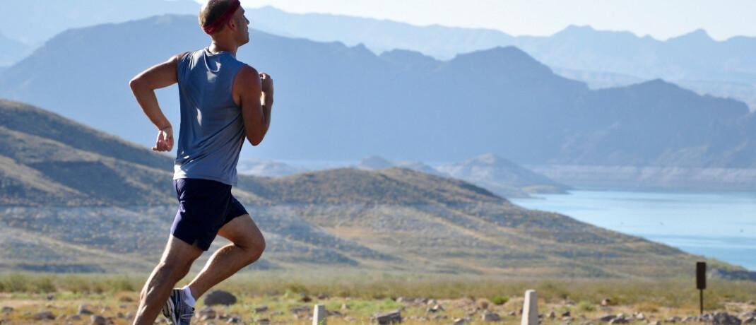 Man beim Joggen:Neue Technologien wie zum Beispiel Fitness Tracker ermöglichen eine immer genauere Überwachung des menschlichen Körpers. © Pixabay