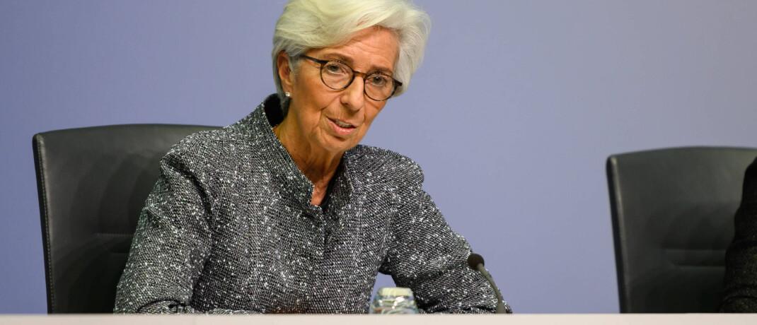 Christine Lagarde: Die Präsidentin der der Europäischen Zentralbank (EZB) versucht, die Börsen der Eurozone nach dem Corona-Crash zu stabilisieren.|© imago images / Xinhua