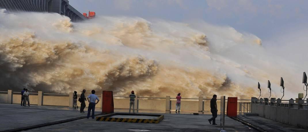 Wasserkraftwerk in China: Anleger, die sich an Nachhaltigkeitsgrundsätzen orientieren, können langfristig hohe Renditen erzielen.|© imago images / China Foto Press