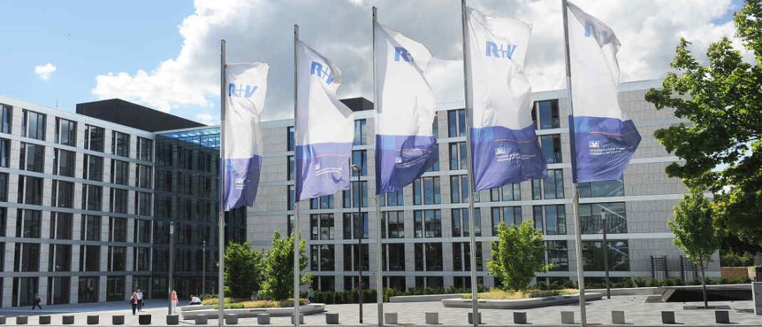 R+V-Zentrale in Wiesbaden: Unter den Versicherern schnitt der Anbieter aus der genossenschaftlichen Finanzgruppe Volksbanken Raiffeisenbanken am besten ab, gefolgt von der Europa Leben, Condor, Zurich Deutscher Herold, Hansemerkur und Barmenia.|© R+V Versicherung AG