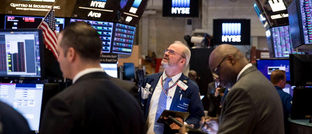 Händler an der Börse in New York: Experten raten, den Wiedereinstieg nicht zu lange aufzuschieben|© imago images / Xinhua