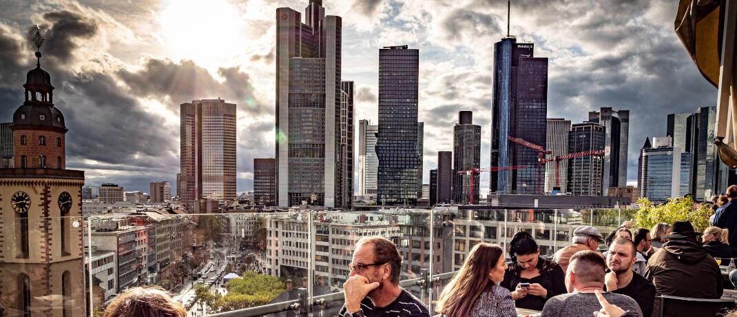 Deutsche Bankenhauptstadt Frankfurt: Banken haben seit der Finanzkrise 2008 ein Image-Problem.|© imago images / Jürgen Ritter
