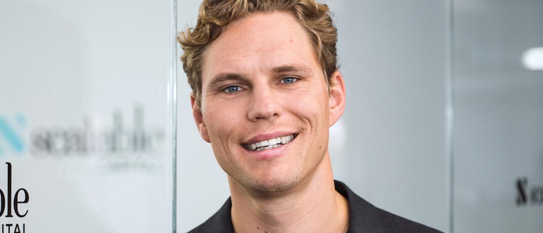 Erik Podzuweit ist Gründer und Geschäftsführer des digitalen Vermögensverwalters Scalable Capital.|© Scalable Capital