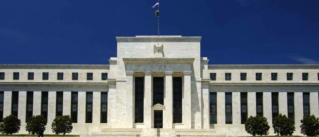 Sitz der US-Notenbank in Washington, D.C.: Noch vor dem US-Kongress hat die Fed ein billionenschweres Rettungspaket aufgelegt.