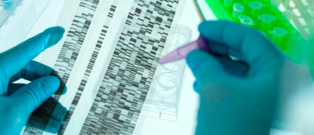 DNA-Sequenzierung bringt Forscher auf die Spur von seltenen Krankheiten: Die Umsätze im Biotech-Sektor dürften in der Breite weiterhin stabil bleiben.|© imago images / Westend61