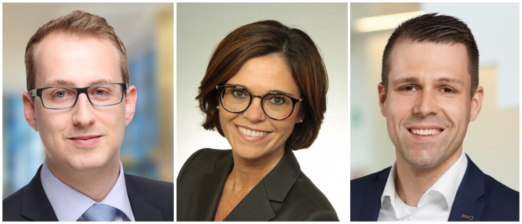 Arne Felten, Vesna Mikac und Chris Pruss (v.l.): Der Kölner Versicherer Gothaer will künftig eine wichtigere Rolle als Versicherung des Mittelstands einnehmen.|© Gothaer Allgemeine Versicherung AG