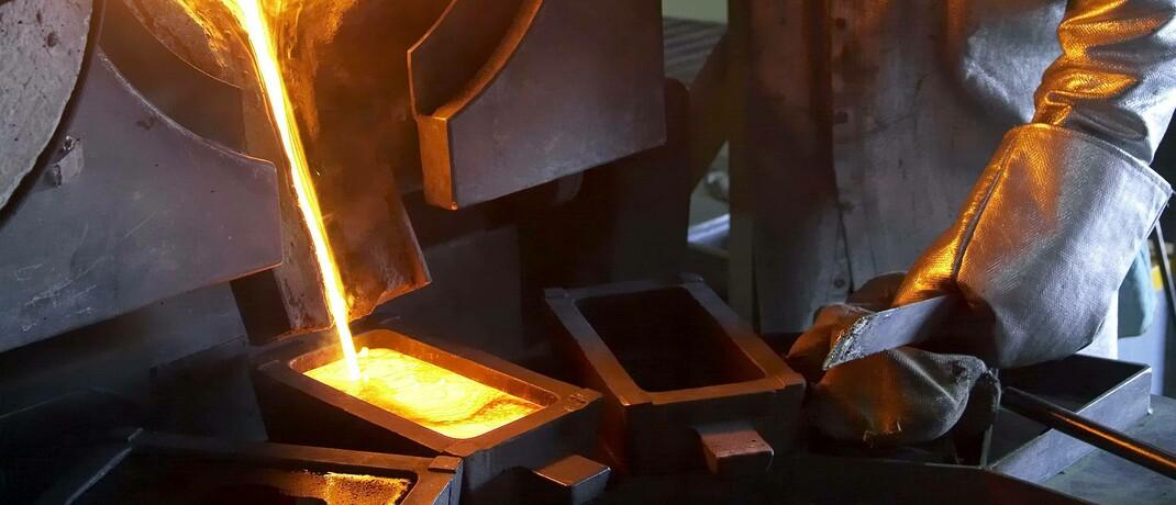 Goldschmelze: Das Edelmetall ist in Krisenzeiten heiß begehrt|© imago images / Newscast