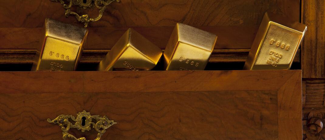 Goldbarren: In unsicheren Zeiten steigt für gewöhnlich die Goldnachfrage © imago images / imagebroker